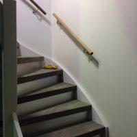 GPdecor maakt met trapbekleding van echt leer spannende entree